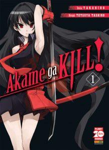 manga Akame ga Kill! copertina